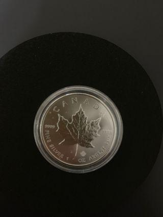 2016加拿大銀幣