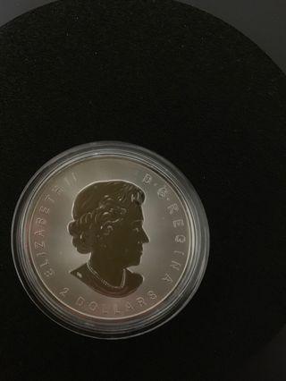 2017加拿大天狼銀幣 3/4oz