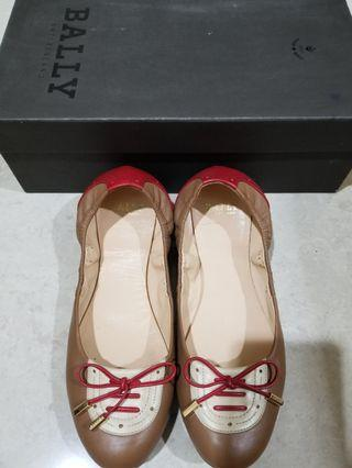 100% AUTHENTIC BALLY Flat shoes Very Good Condition