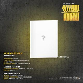 [PO] STRAY KIDS CLE2 YELLOW WOODS