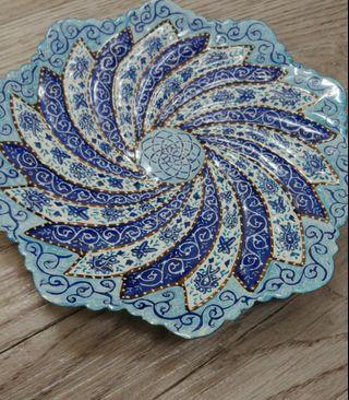 Minaa plate persian art