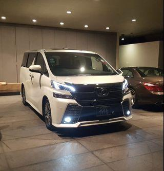 Toyota Vellfire Hari Ray Car For Rent