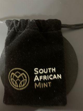 2017南非富格林50週年銀幣