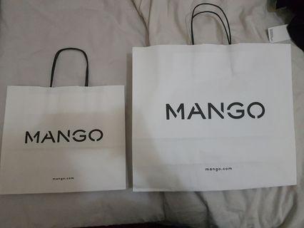 Paperbag paper bag mango