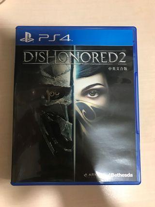 PS4 Dishonored 2 中英文合版