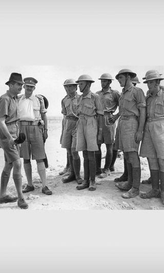 Vintage Gurkha Pants