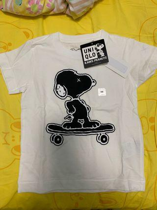 Snoopy x uniqlo tee