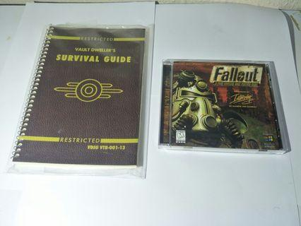 RARE RETRO WINDOWS 95 PC CD ROM GAME MS DOS FALLOUT