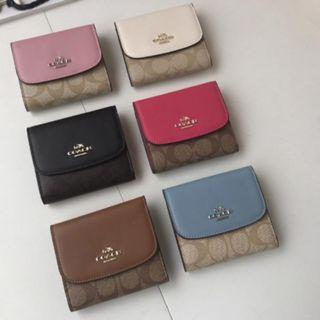 Authentic Coach Women's Wallet & Cardholder Mono colour basic design