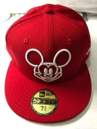 NEW ERA Disney 59fifty Basecap Mickey Mouse(Red)