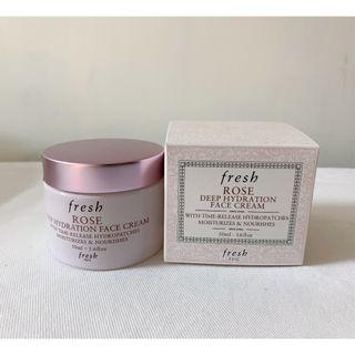Fresh Rose Deep Hydration Face Cream 50ml COS69