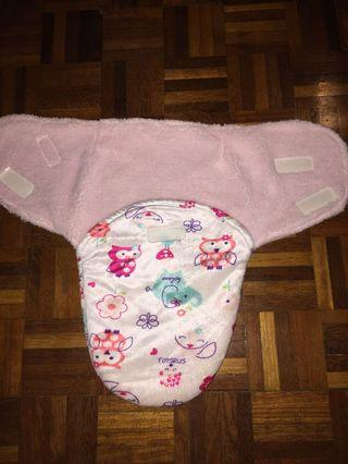 Cotton baby swaddle