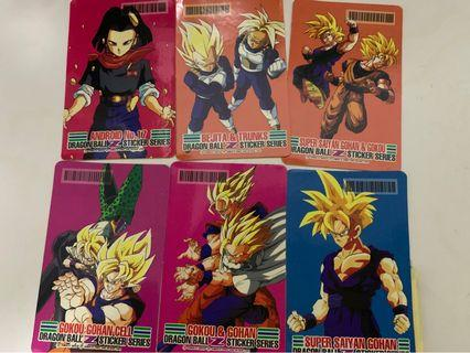 🚚 Dragonball Z Stickers