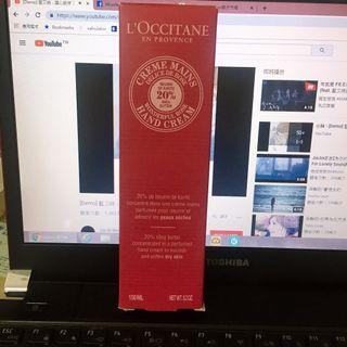 🚚 L'OCCITANE歐舒丹護手霜-rose 150ml