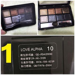 Mac/ Love Alphu/ Mac x Hello Kitty / 日本 eyeshadow 眼影