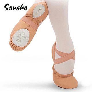 For arch training: sansha ballet shoes