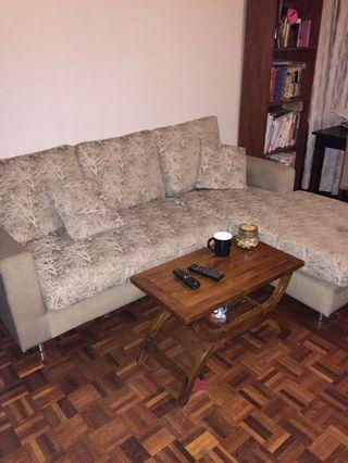 3 seater L shape sofa