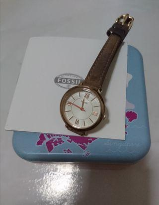 Fossil Jacqueline ES3801 26mm diameter Leather Strap (Authentic)