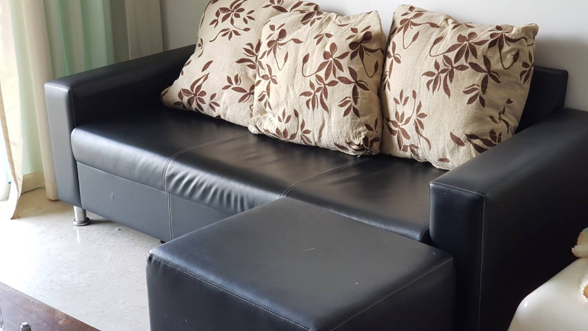 Magnificent 3 Seater Sofa Detachable Ottoman Frankydiablos Diy Chair Ideas Frankydiabloscom
