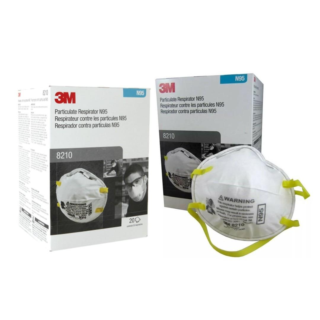 Respirator N95 On Carousell Face Mask 8210 3m™ Particulate