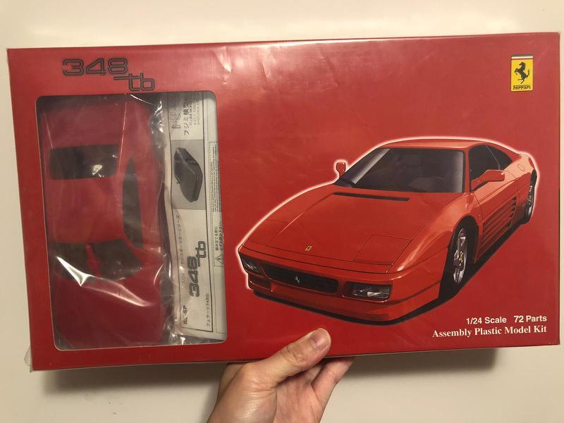 模型車 法拉利 1/24 348tb