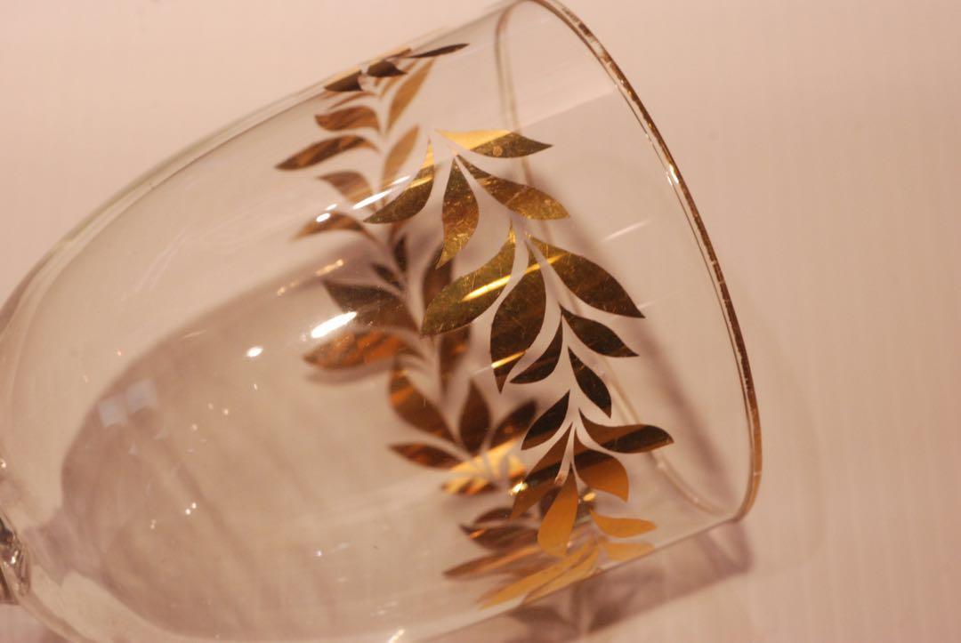 懷舊 玻璃杯 酒杯