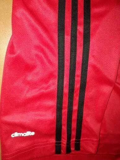 Adidas 3 stripe tees