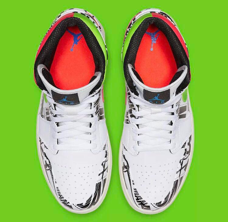"""預購Air Jordan 1 Mid """"All over Logos"""""""