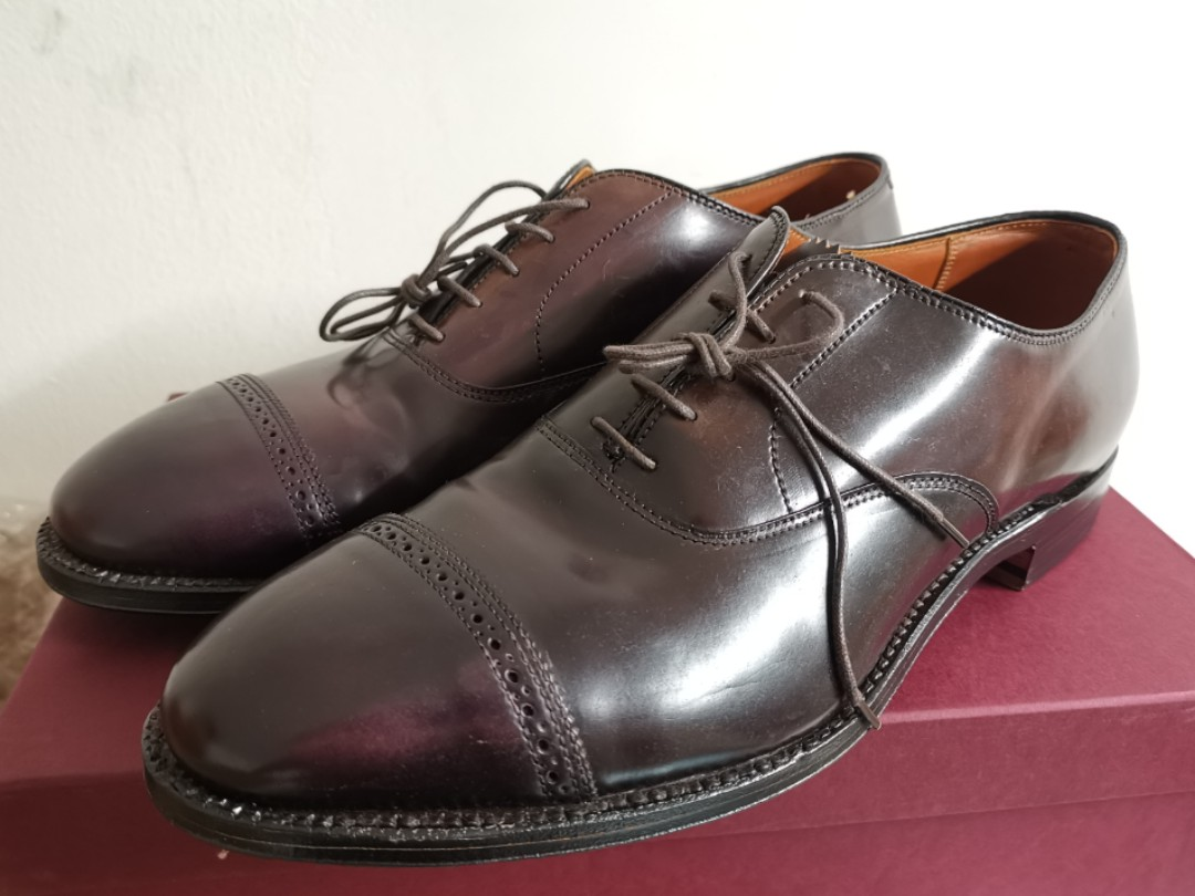 7988d578851 Alden Brooks Brothers Shell Cordovan Shoes, Men's Fashion, Footwear, Formal  Shoes on Carousell