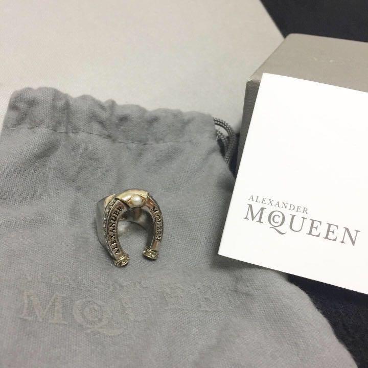 Alexander Mcqueen Horseshoe Ring 💍