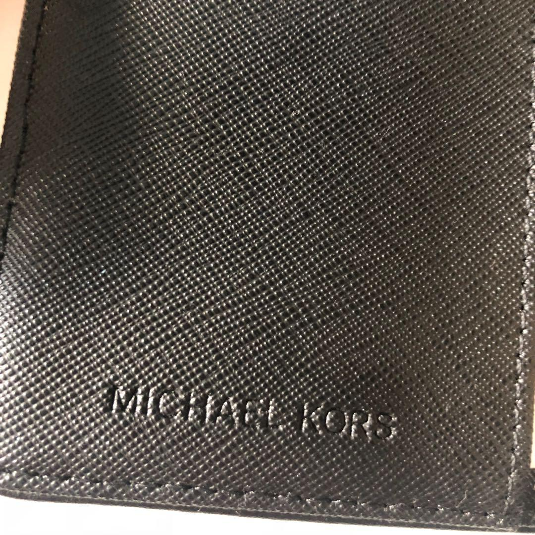 AUTHENTIC MICHAEL KORS MK PASSPORT TRAVEL WALLET CASE BLACK