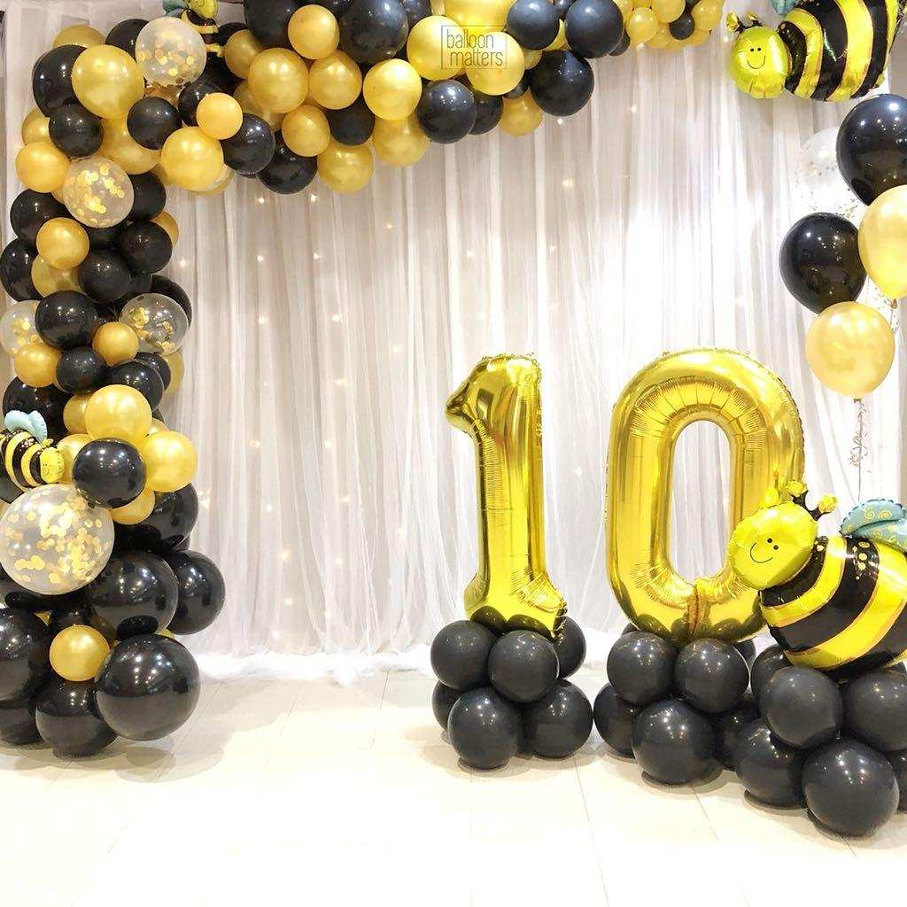 Customisable Balloon Garland | Balloon Arch | Personalised Balloon for Birthday | Baby Shower | Wedding | Gender Reveal | Party