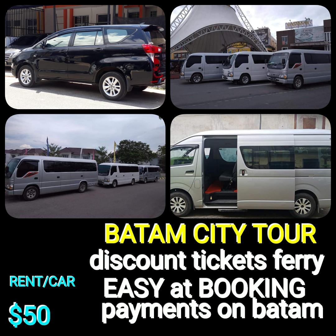 BATAM CITY TOUR and RENT CAR:http://www.wasap.my/+6281365032800/Hallo,yunas
