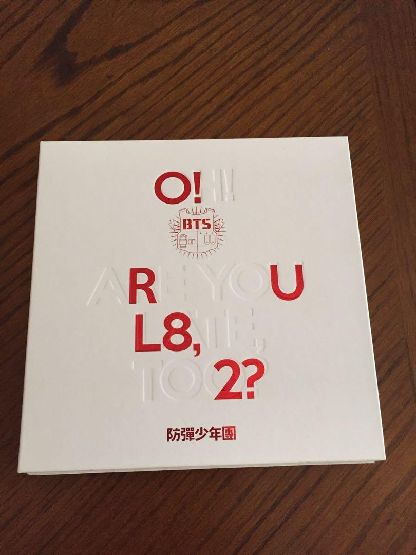 BTS Love Yourself Her (V version) and Are You Late? (both no pc)
