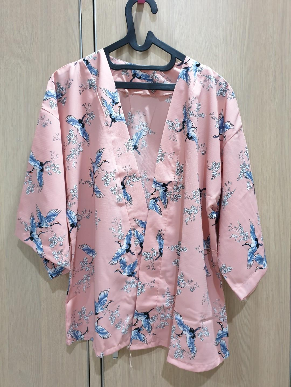 Cardigan Crane Bird Zara Lookalike Sisa Jualan Brand New