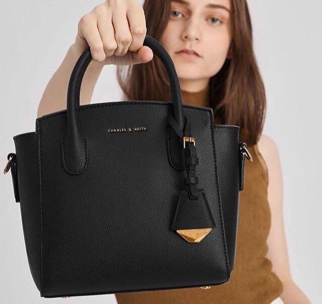 Charles and Keith Top Handle