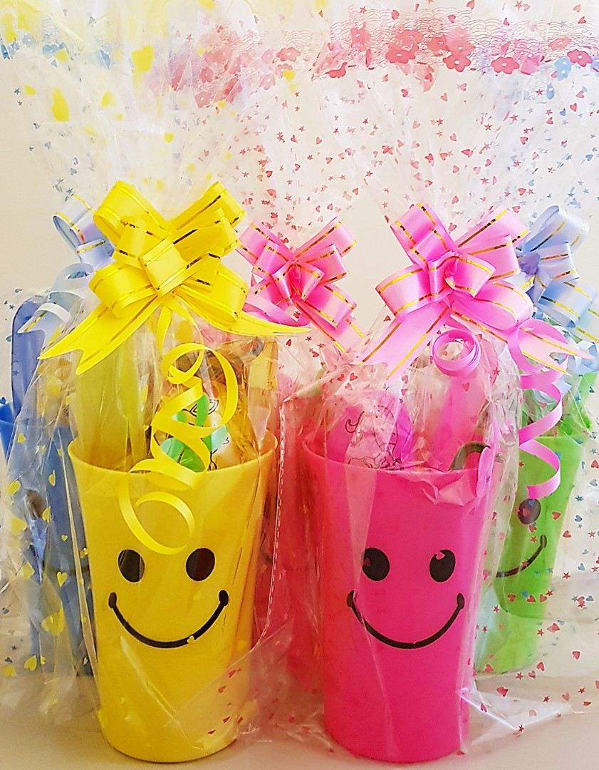 Children Birthday Goodie Bag Goody Smiley Cup Dragonfly Led
