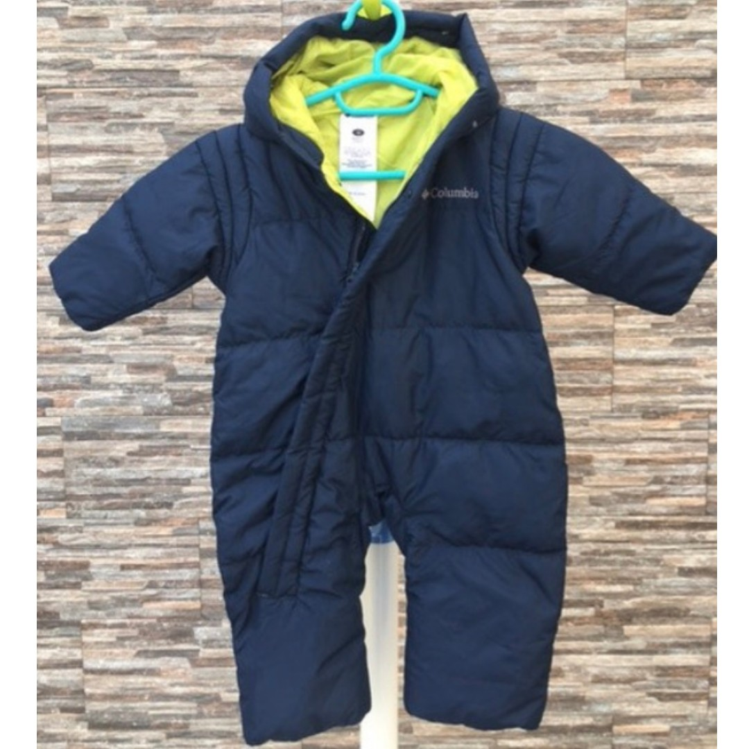 538cceb51 Columbia Down Winter Snowsuit, Babies & Kids, Babies Apparel on Carousell