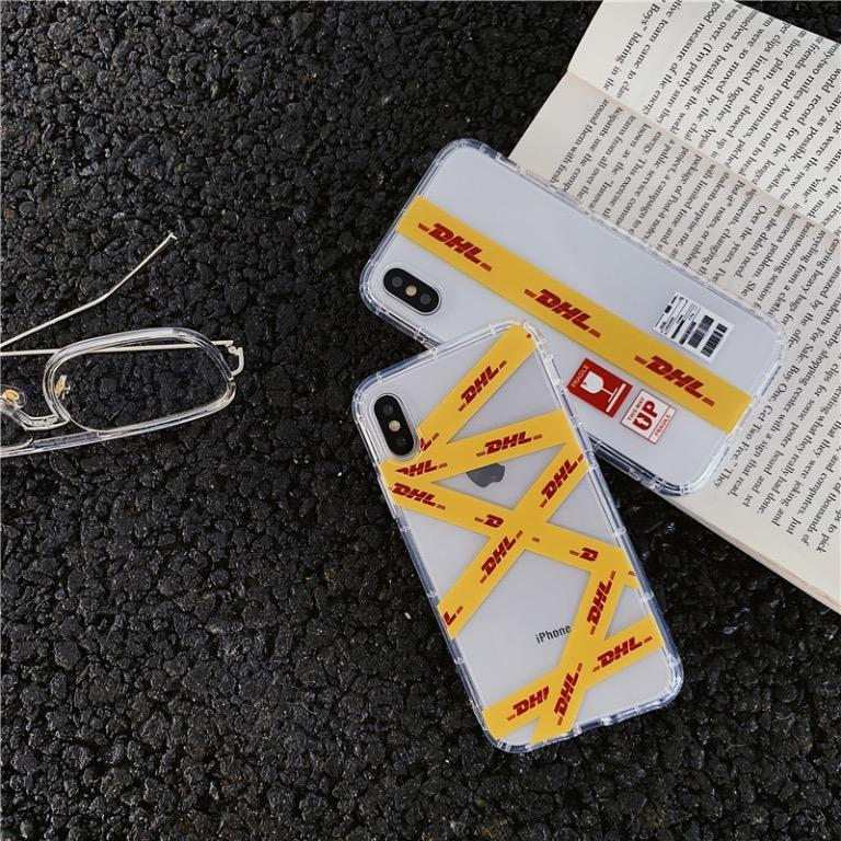 #1 & #2 - 100% NEW Fashionable clear DHL iPhone Case