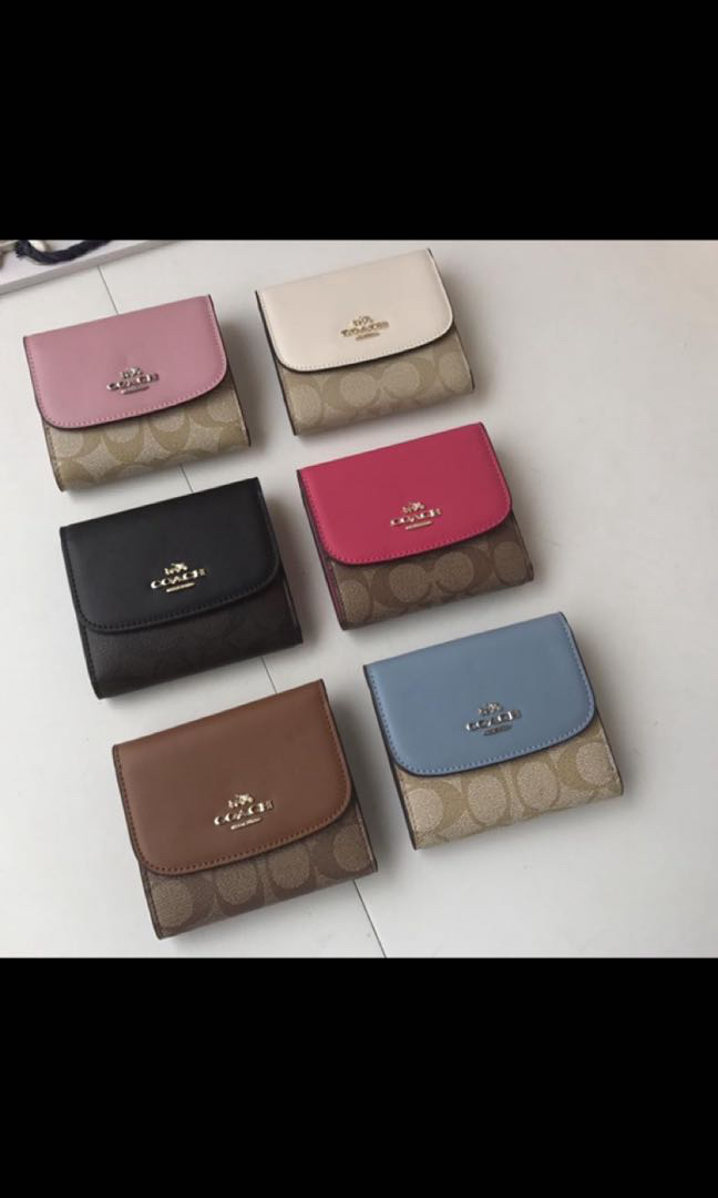 low priced 7b64a e84ad ‼️FLASHSALE‼️ Coach-[F87589]-Short ladies wallet + cardholder