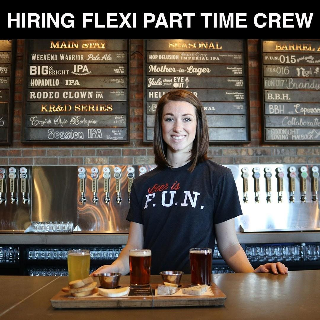 Flexi Part Time Service Crew 👍