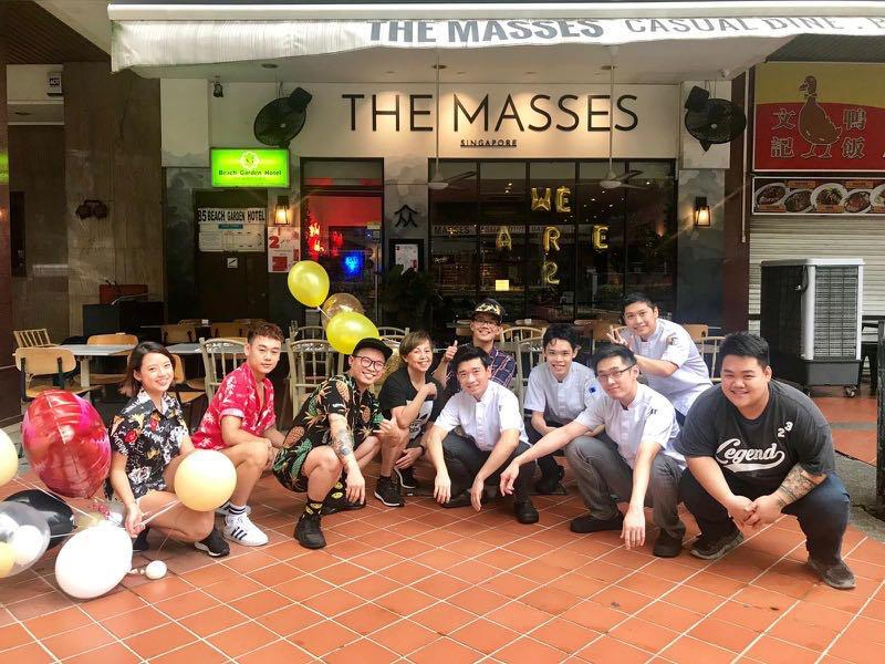 Full time / Part time at The Masses Singapore