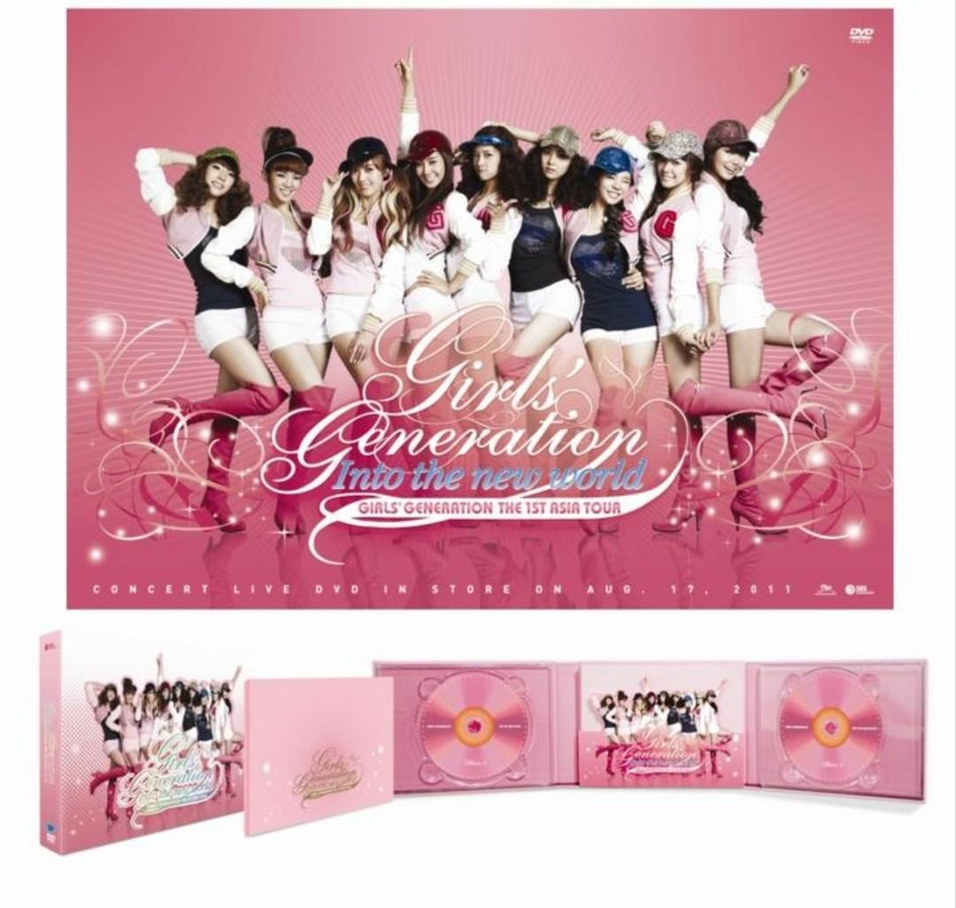 Girls Generation Into the new world The 1st Asia Tour