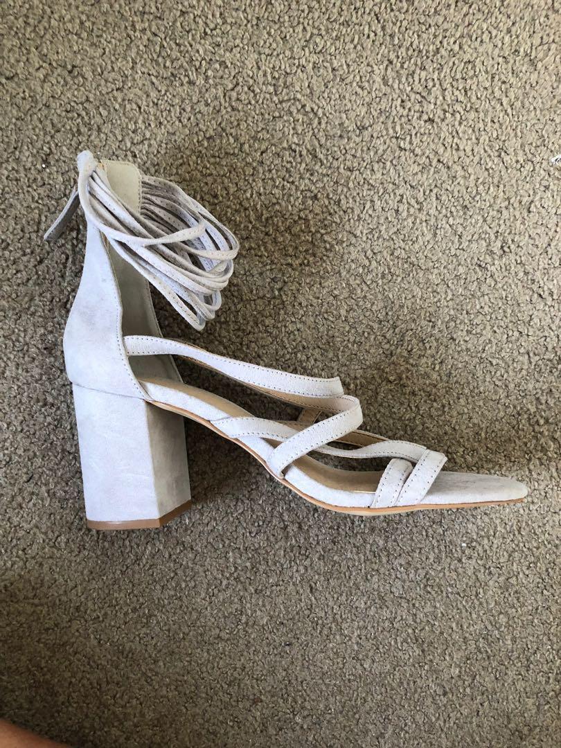 Glassons strappy heels