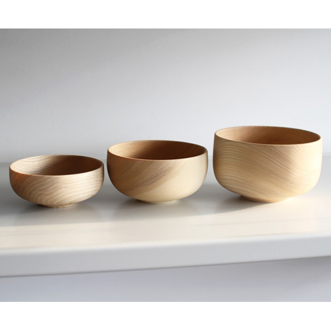Handcrafted Wooden Bowls