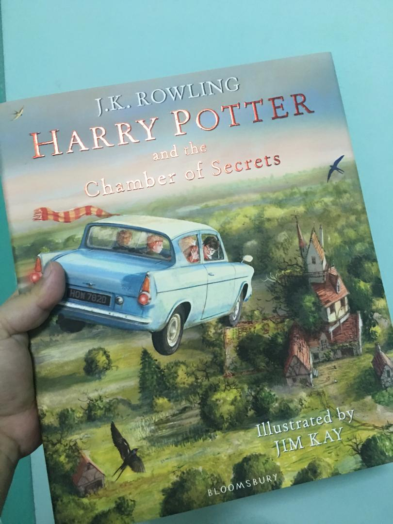 Harry Potter and the Chamber of Secrets Illustrated Edition by Jim Kay (Hardbound)