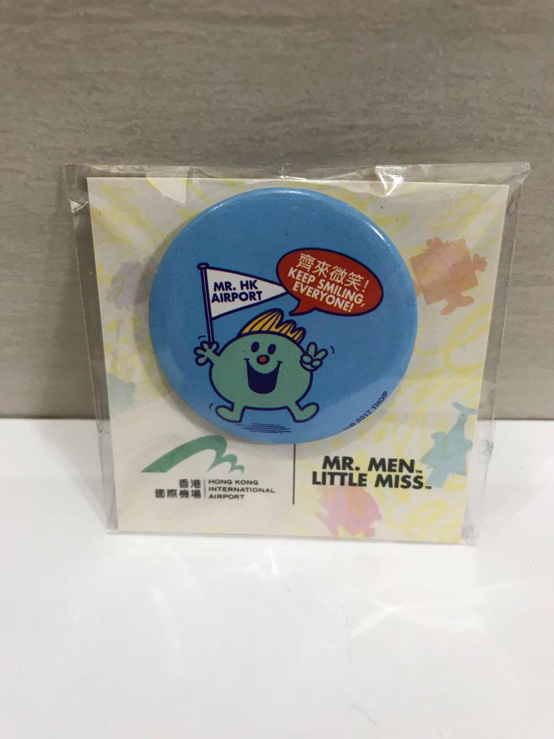 HKIA x Mr. Men and Little Miss Badges (1套5款)