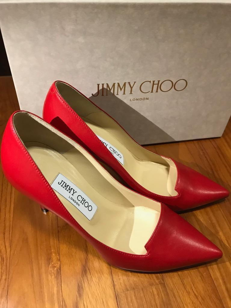 34e8934103e Jimmy Choo red pumps, Women's Fashion, Shoes, Heels on Carousell