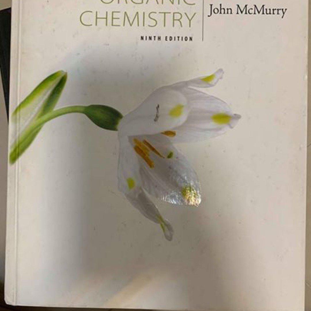 John McMurry 有機化學 原文書 第九版