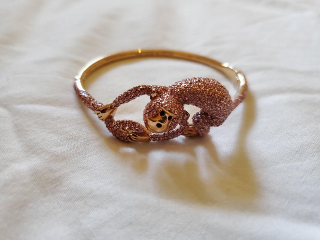 Kate Spade Rambling Rose's Monkey Bracelet Bangle